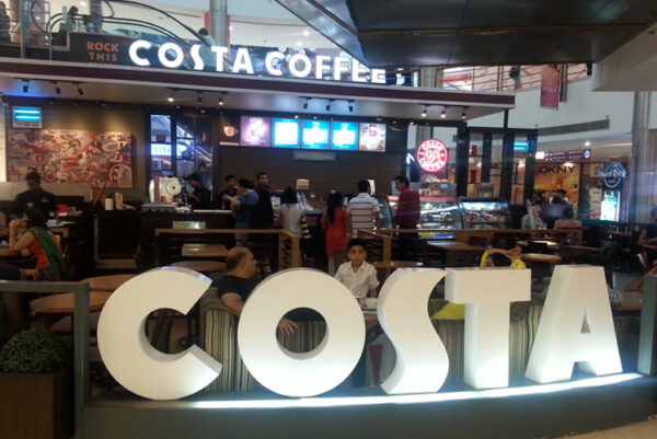 Café at Lulu Mall, Cochin